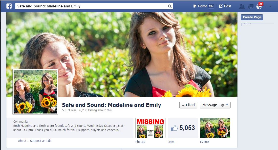 Safe and Sound Madeline and Emily