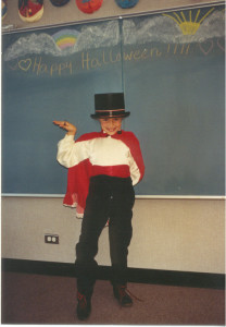 8 yr old Polly - Halloween
