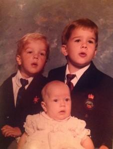 Nathan, Andrew, & Sydney Slinkard