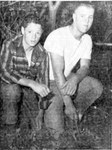 Norman Forther & Jeff Doherty after they discovered Lorna Lax' body